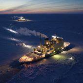 Schichtwechsel auf der Polarstern
