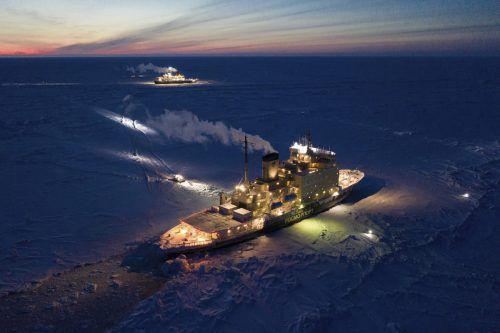 Das Forschungsschiff ist seit einem halben Jahr in der Zentralarktis unterwegs. AP