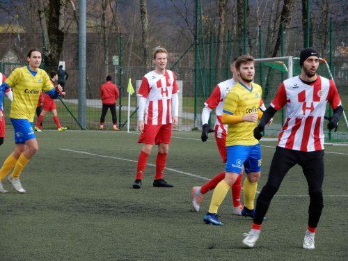 Auf Dünser und Co. warten noch intensive Trainingseinheiten bis zum ersten Meisterschaftsspiel am 4. April. cth