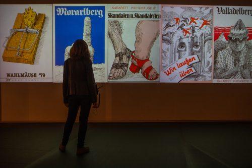 Ausstellung mit Arbeiten von Reinhold Luger im Vorarlberg Museum. KH