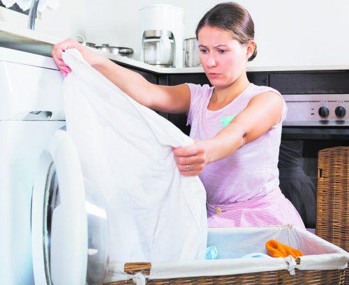Bakterienreste können sich in der feuchten Wäsche rasch vermehren.foto: shutterstock