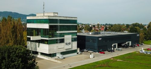 Bei SIE in Lustenau wird produziert, der Ablauf wurde den Erfordernissen angepasst.VN/PS