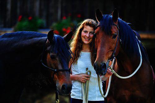 Birgit Burtscher (30) könnte sich ein Leben ohne Pferde nicht vorstellen. archiv