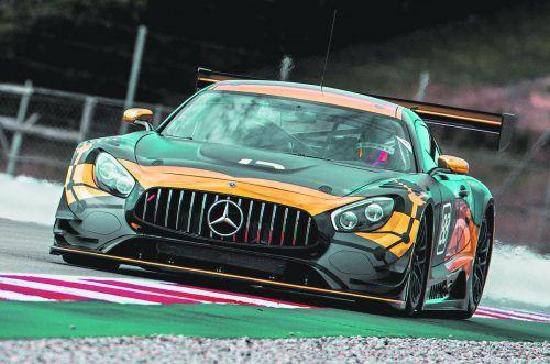 Christian Klien testete erstmals mit der Equipe von JP Motorsport.MNO