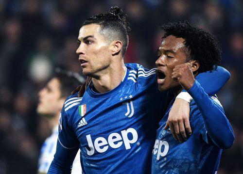 Cristiano Ronaldo und seine Kollegen von Juventus verzichten auf viel Gehalt.afp