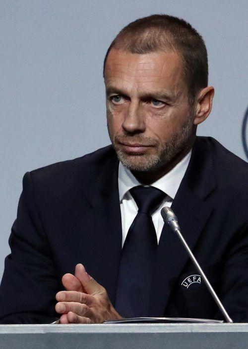 Das Coronavirus bringt auch Aleksander Ceferin und die UEFA in Bedrängnis.Reuters