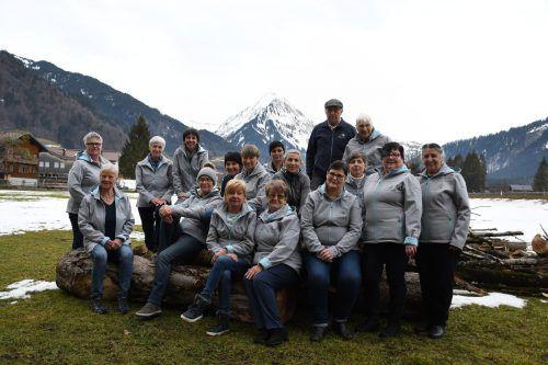 Das engagierte Team des Mobilen Hilfsdienstes im hinteren Bregenzerwald. mam