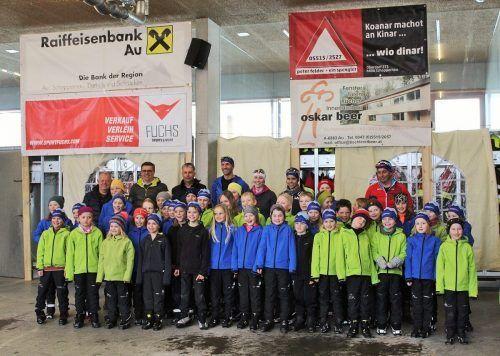 Das Langlauftraining der Wintersportvereine Au und Schoppernau wurde auch in dieser Saison von insgesamt 48 Kindern gerne angenommen.