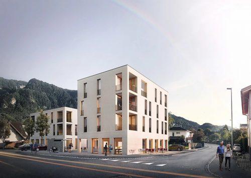 Das neue Wohn- und Geschäftsquartier im Herrenried.mima