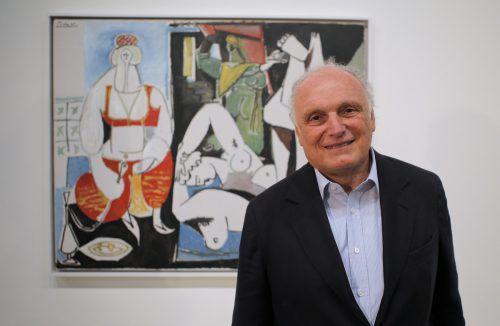 David Nahmad ist einer der einflussreichsten Kunsthändler auf der Welt. Eigenen Angaben zufolge besitzt er die größte private Picasso-Sammlung der Welt. AP