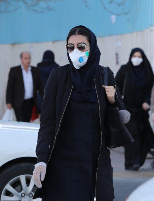 Der Iran ist besonders stark vom Coronavirus betroffen. AFP