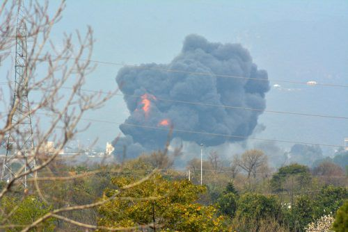 Der Kampfjet ist am Rande der Hauptstadt Islamabad abgestürzt. Reuters