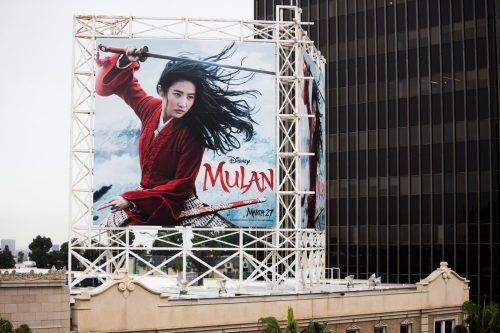"Der Kinostart vieler Blockbuster wie ""Mulan"" wurden verschoben. AFP"