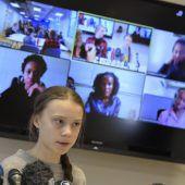 Thunberg ruft wegen Coronakrise zu Onlineprotesten auf
