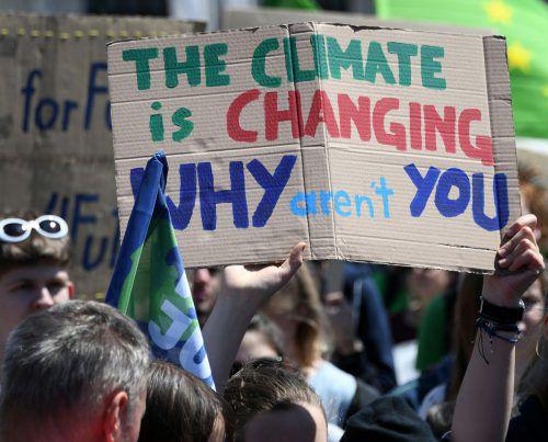 Der Klimawandel ist seit geraumer Zeit ein großes Thema rund um den Erdball. apa/Huter