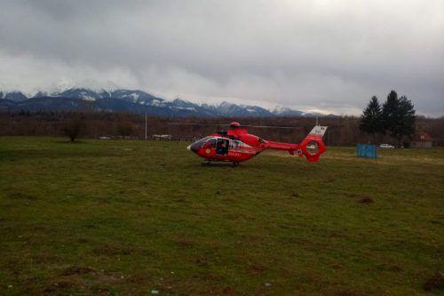 Der Leichnam wurde mit dem Hubschrauber geborgen.
