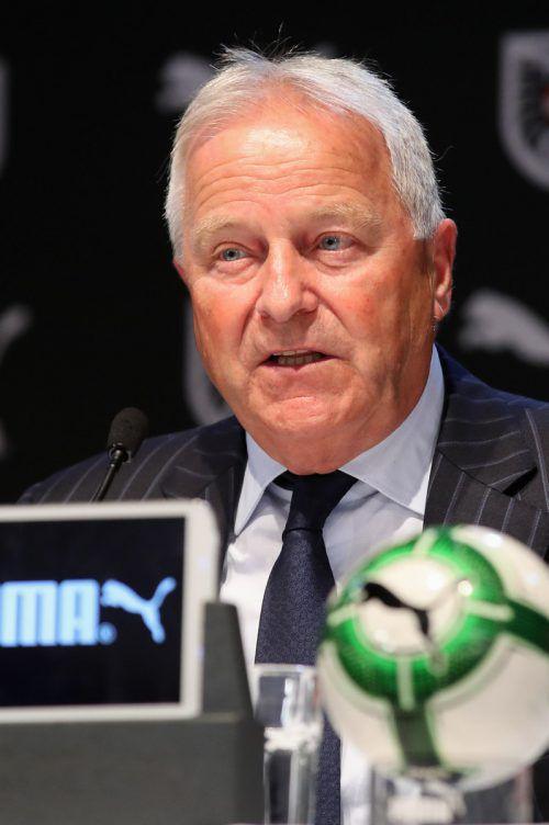 Der ÖFB unter Präsident Leo Windtner will trotz Pandemie gegen die Türkei spielen.