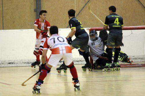 Der Rollhockeyclub Dornbirn unterlag mit 2:7. RHC
