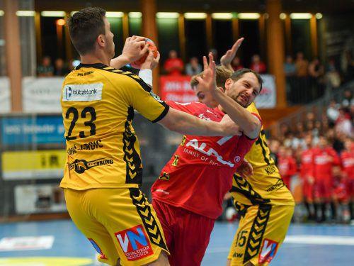 Vorarlbergs Handballfans dürfen sich auf eine spannende erste Saison nach langer Coronapause freuen.gepa