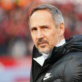 Hütter trifft im Cup-Halbfinale mit Frankfurt auf die Bayern