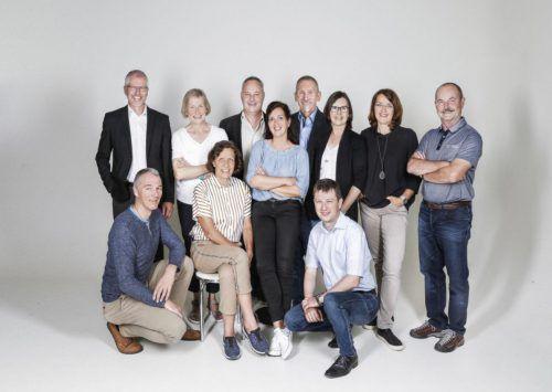 Der Vorstand des Krankenpflegevereins Klaus-Weiler-Fraxern freut sich auf die neuen Räumlichkeiten, die in der Dorfmitte in Weiler entstehen. Verein