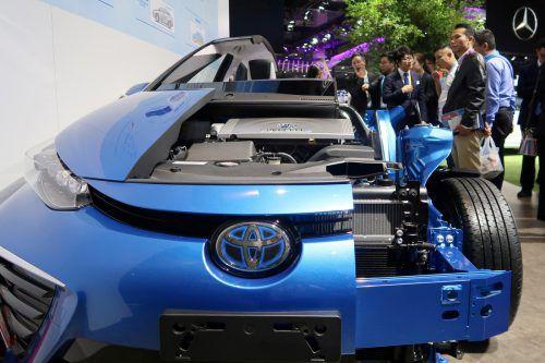 Der wasserstoffbetriebene Toyota Mirai ist Pionier einer Null-Emissions-Zukunft.Reuters