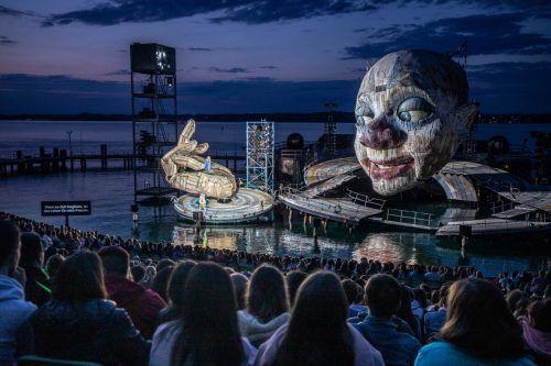 Die Bregenzer Festspiele zählten im Vorjahr rund 250.000 Besucher. sams