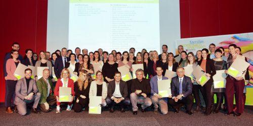 Die BuLu und Etiketten Carini sind familienfreundliche Großbetriebe. Werner MIcheli