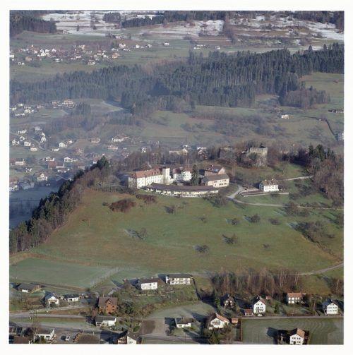 Die Burg Jagdberg besaß keinen Wehrturm.