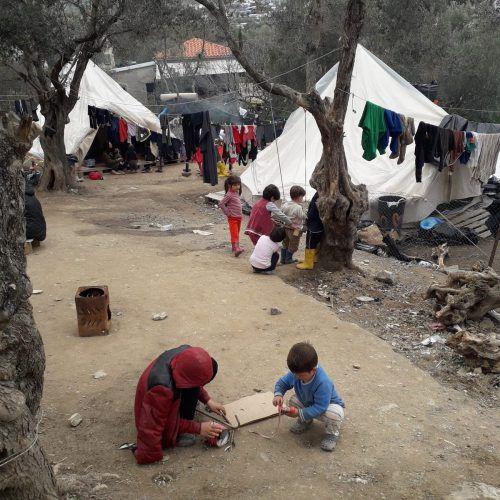 Die Caritas berichtet von dramatischen Zuständenin Griechenland.Caritas