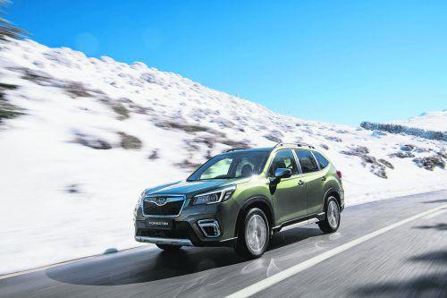Die Elektrifizierung geht Subaru mit Bedacht an, der neue Forester e-Boxer ist ein Mildhybrid.werk