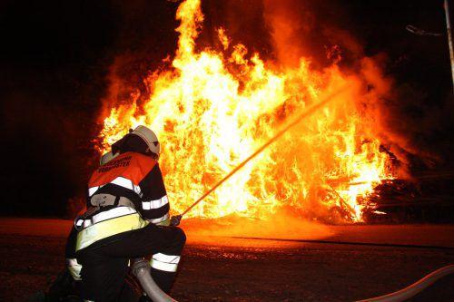 Die Feuerwehren von Bregenz-Vorkloster und Stadt rückten zum Einsatz beim Kloster Mehrerau an. symbol/Vlach