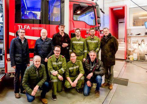Viele Stunden investierten die Weiler Florani im vergangenen Jahr in die Vorbereitungen für das neue Einsatzfahrzeug. GemeinDe/Fritz