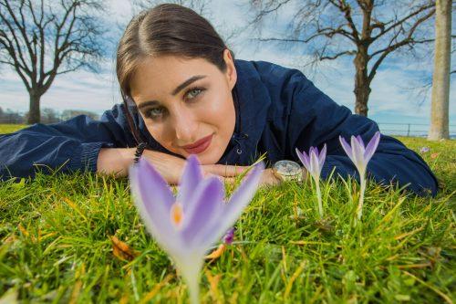 Die Frühlingsboten, die Christina aus Bregenz schon Ende Februar entdeckt hatte, fühlten sich auch im milden Märzwetter wohl. VN/Steurer