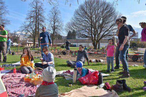 Die Gartensaison 2020 startet demnächst auch bei Essbare Stadt Dornbirn im Pilotgarten im Kulturhauspark. blan