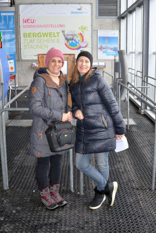 Die Organisatorinnen Marianne Beer und Klaudia Moosbrugger.