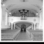 <p>Die Orgel der Gebrüder Mayer wurde 1876 errichtet.</p>