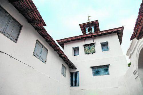 Die Paradesi Synagoge ist die einzige in Kochi, in der noch Gottesdienste stattfinden.