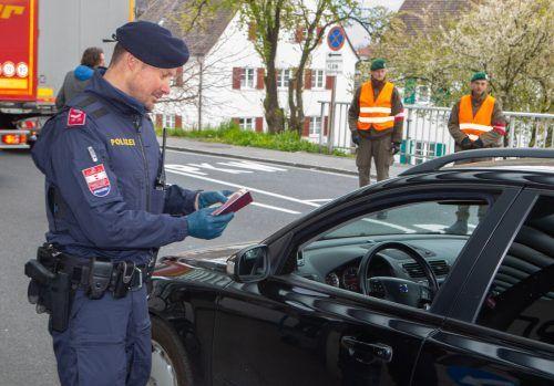 Die Polizei und das Bundesheer arbeiten künftig an den Grenzen Hand in Hand.