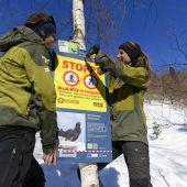 Aktionstag im Naturpark Nagelfluhkette