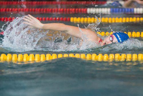 Die seit einer Woche 16-jährige Hanna Röser verzeichnete bei der Hallenmeisterschaft bei 18 Starts eine makellose Ausbeute.Steurer