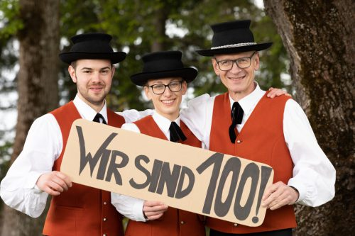 Die Sulzberger Musikanten feiern das 100-jährige Bestehen des Vereins.