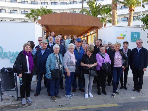 Die Teilnehmer der Reise genossen das Wetter und die Natur.vlbg sb