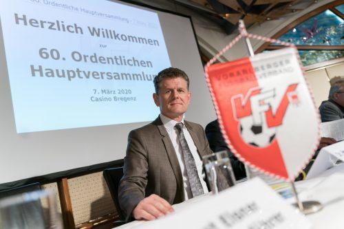 VFV-Präsident Horst Lumper beantwortet heute Fragen zum Ligen-Abbruch.Stiplovsek