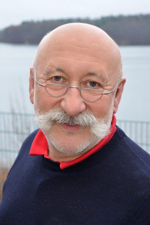 """Dr. Hans Hartmann ist im Rahmen der Reihe""""Wertvolle Kinder"""" in Bregenz zu Gast. Privat"""