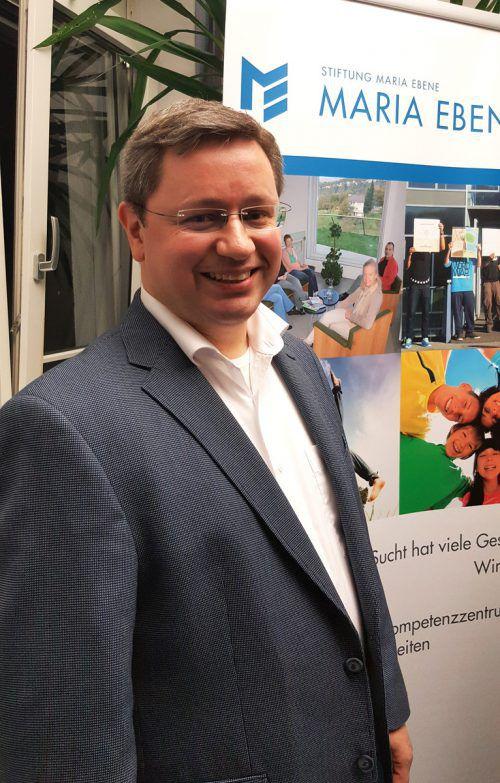 Dr. Philipp Kloimstein übernimmt Krankenhaus Maria Ebene. Stiftung