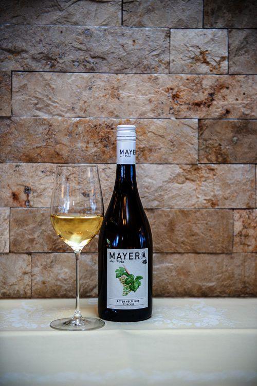 Ein ausgezeichneter Wein mit großer Trinkfreude vom Weingut Mayer.Beate Rhomberg