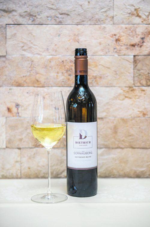 Ein toller Wein, der perfekt zur Kräuterveloutée passt.B. Rhomberg