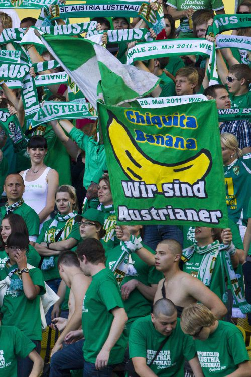Eine der großen Aufgaben wird es sein, so viele Austria-Fans wie möglich nach Klagenfurt zu bringen. In Wien 2011 waren 3500 Austrianer Teil des Cupfinales.steurer