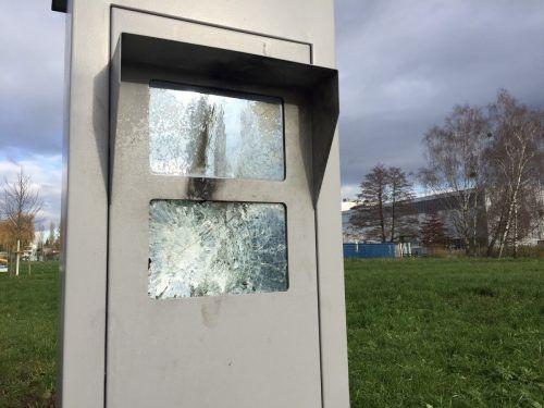 Eine zerstörte Radarbox kann ordentlich ins Geld gehen. VN